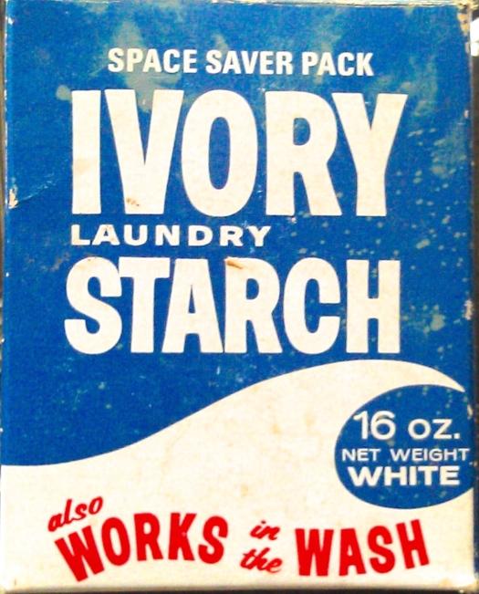 Vintage Starch Box